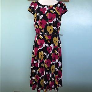 Nine West Midi Dress with Belt - 14